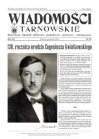 Okładka WIADOMOŚCI TARNOWSKIE NR 58
