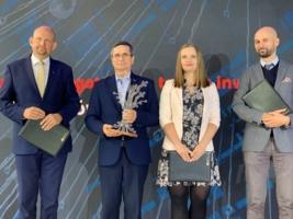 Prezydent Tarnowa, Roman Ciepiela z nagrodą Krakowskiego Parku Technologicznego za najlepiej przygotowane tereny inwestycyjne