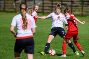 Mecz piłki nożnej kobiet