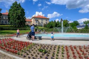 Nowa fontanna w parku Sanguszków
