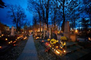Zrzutka na cmentarze