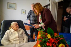 Setne urodziny Marianny Burzyńskiej