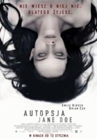 "Plakat filmu ""Autopsja Jane Doe"""