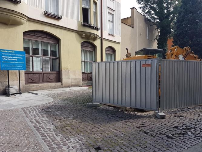 Remont ulicy Krótkiej