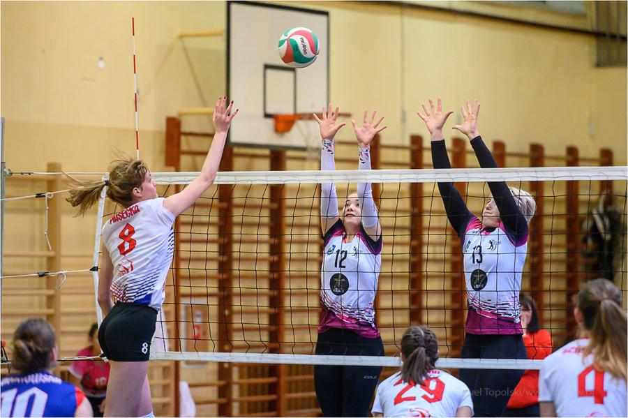 Mecz drugiej ligi siatkówki kobiet: UKS Jedynka Tarnów - SMS PZPS II Szczyrk