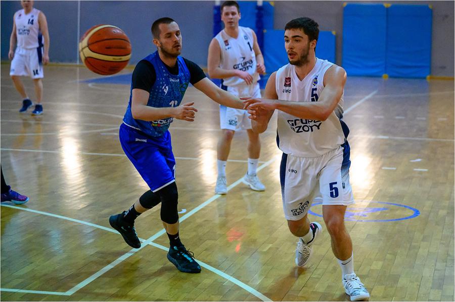 Mecz drugiej ligi koszykówki mężczyzn: Unia Tarnów - SKF Jura Basket Zabierzów